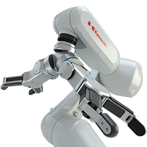 OnRobot dual gripper on Kawasaki robot